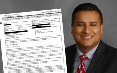 Estrada Receives Notice of I-360 Approval for an Unaccompanied Minor