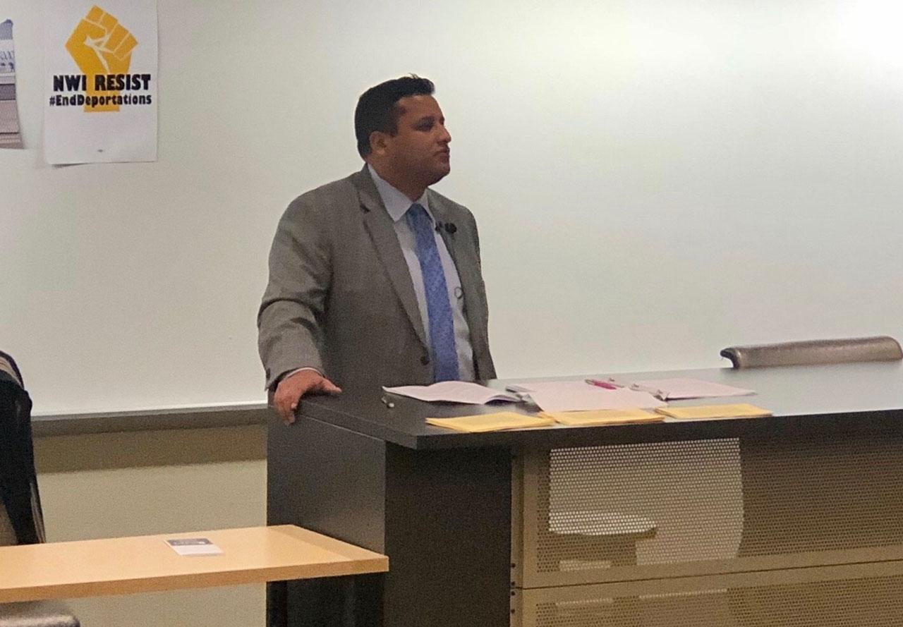 Center of Global Studies at Purdue Northwest Invited Estrada to Speak