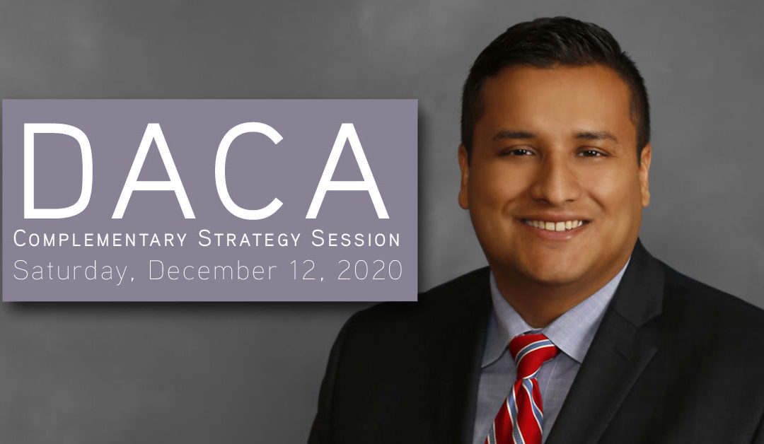 DACA Strategy Planning Sessions on Saturday, December 12th