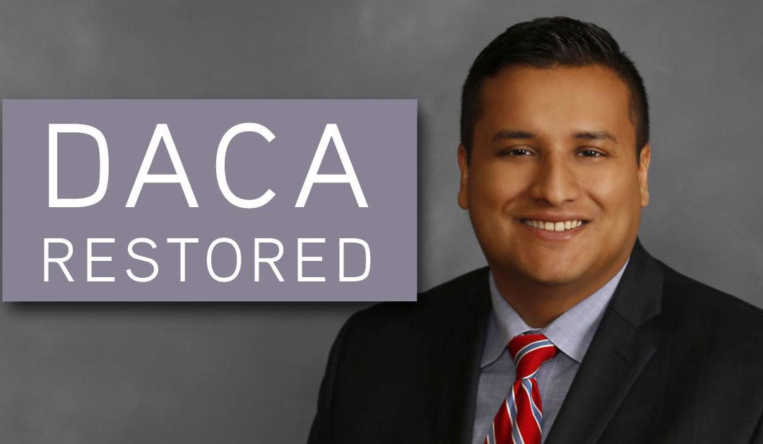 DACA Restored – December 4, 2020