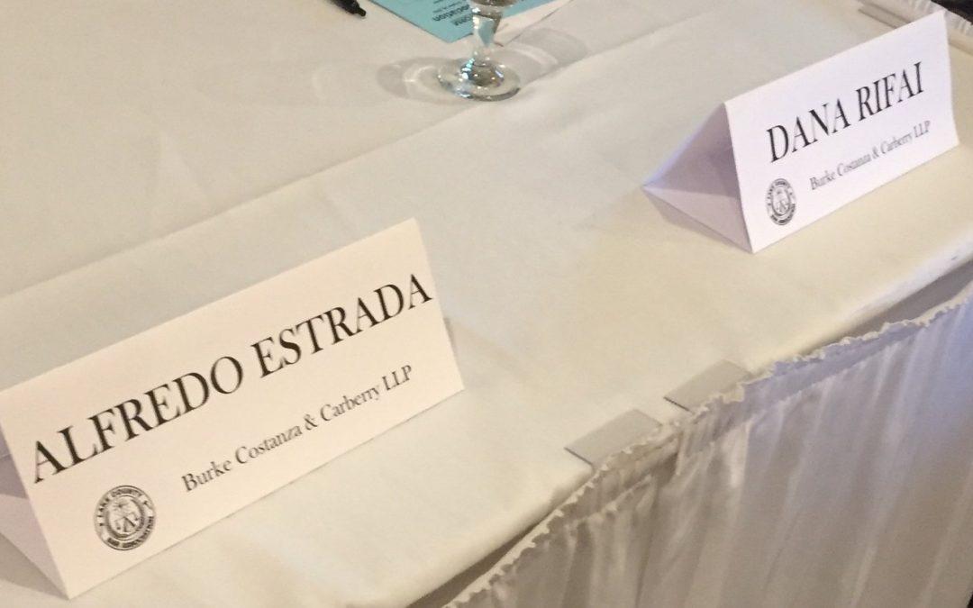 Rifai & Estrada Ponentes en la Conferencia de la Barra y Juez de 2016