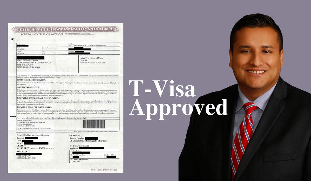 T-Visa Approved