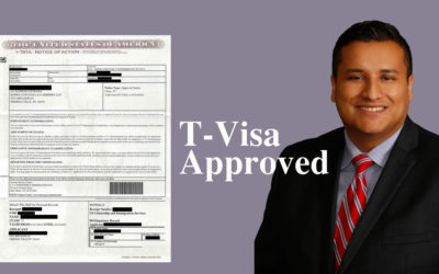 T-Visa Approved